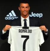 Adidas Juventus Turin Heimtrikot mit Original Ronaldo Flock (2018/19) für 59,95€