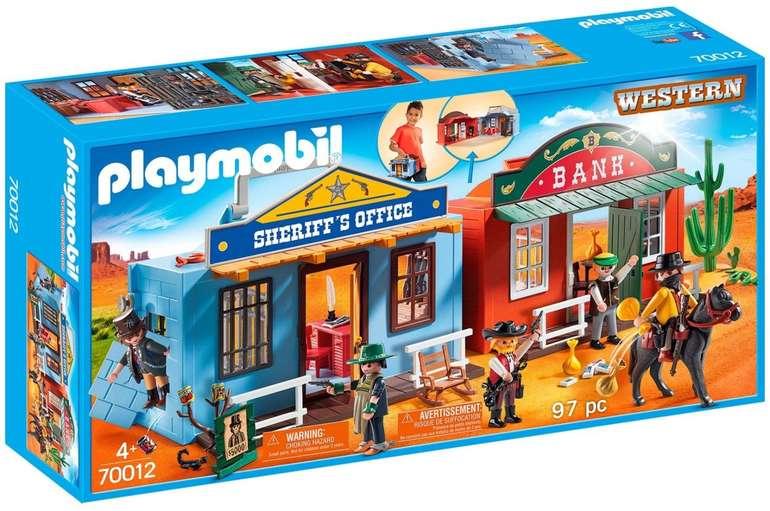 Playmobil (70012) - Mitnehm-Westerncity für 18,95€ inkl. VSK (statt 26€)