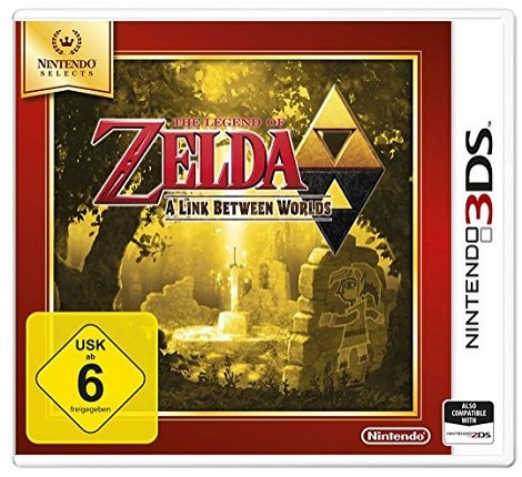 The Legend of Zelda: A Link Between Worlds (3DS) für 11,76€ @Prime (statt: 17€)
