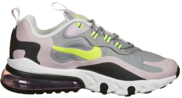 Nike Sportswear Sneaker 'Nike Air Max 270 React' in mischfarben (Größe 35-40) für 62,40€ inkl. Versand