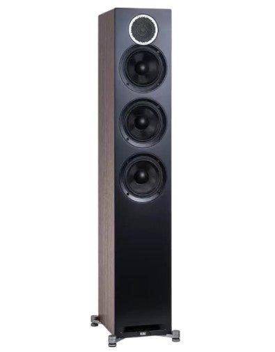 ELAC Debut Reference F5 HiFi Lautsprecher (Aramid-Faser verstärkt) in Schwarz/Holz für 389€ inkl. Versand (statt 587€)