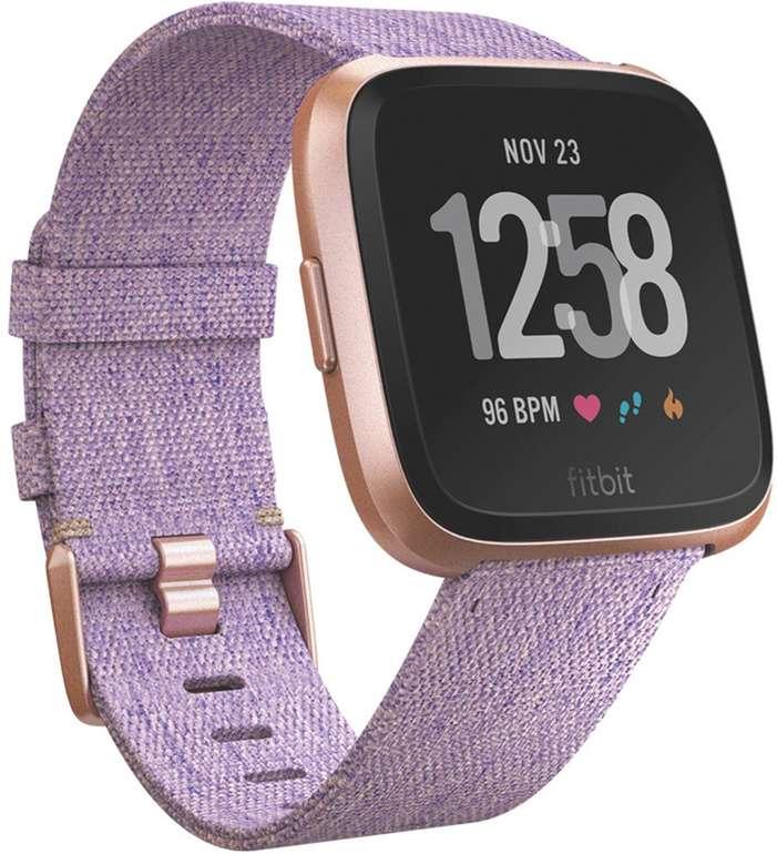 """Fitbit Versa Smartwatch """"Special Edition Lavender Woven"""" für 136,89€ inkl. VSK (statt 180€)"""