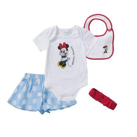 Disney 4-teiliges Baby Set Minnie Mouse für 10,79€ inkl. Versand (statt 19€)