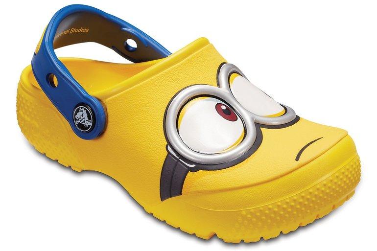 Crocs mit 30% Rabatt auf fast alles + VSKfrei - z.B. Kids' Fun Lab Minions für 24,49€