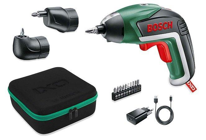 Bosch IXO V + Akku + 10 Bits + 2 Aufsätze für 47,99€ inkl. Versand