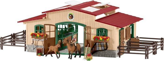 Schleich - 42195 Pferdestall für 58,05€ inkl. Versand (statt 70€)