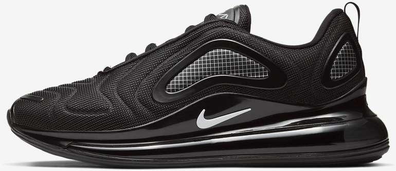Nike Air Max 720 Herren Sneaker (Größe: 40 - 49) in Schwarz für 128,21€ (statt 190€)