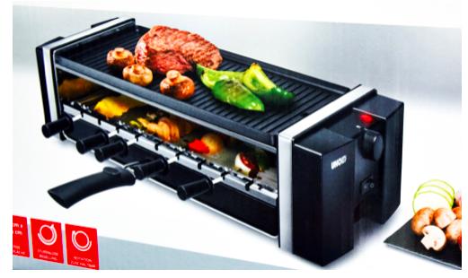 Unold 58515 Grill & Kebab (rotierende Grillspieße, 1200W) für 19,99€ inkl. VSK