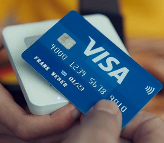 2 % Geld-zurück-Aktion mit der Visa-Card (bis zu einem Betrag von 25€ pro Kassenvorgang)