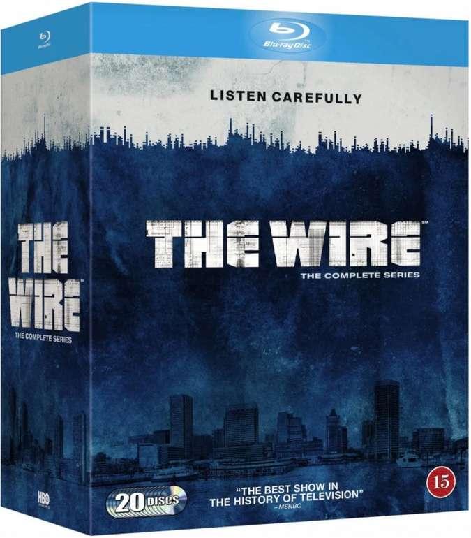 The Wire Staffel 1-5 Komplettbox [Blu-Ray] für 42,99€ inkl. Versand (statt 56€)