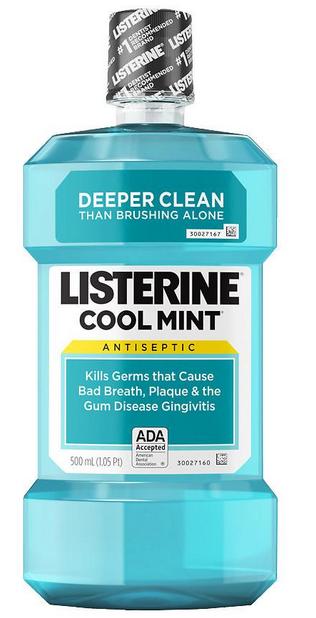 Kostenlos: Listerine Mundspülung gratis testen dank Geld zurück Garantie