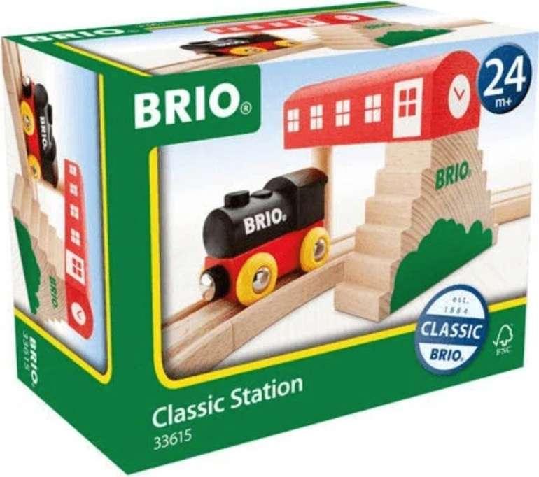 Brio Classic Bahnhof (33615) für 12,99€ inkl. Versand (statt 21€)