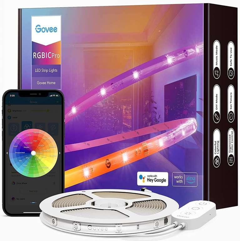 Govee RGBIC Pro 5 Meter LED Strip (Alexa & Google Assistant, Musik Sync) für 29,59€ inkl. Versand (statt 37€)