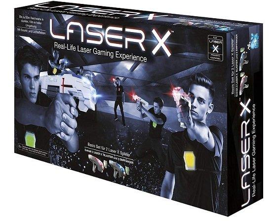 Beluga Laser-X-Double Lasertagpistolen für 22,49€ (statt 53€)