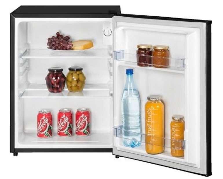 Exquisit KB 60-15 SW Mini Kühlschrank (84 kWh/Jahr, A++, 620 mm hoch, Schwarz) für 109€