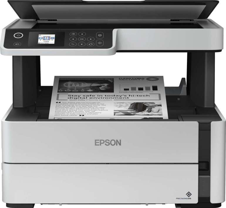 Epson EcoTank ET-M2140 - S/W Tintenstrahl-Multifunktionsgerät für 179,90€ (statt 240€)
