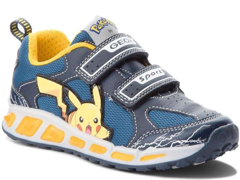 Geox J Shuttle Pikachu Klettverschluss Kinder Schuhe für 23,80€ inkl. Versand (statt 50€) - MBW: 25€