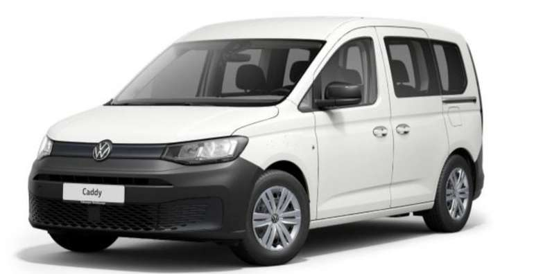 Privatleasing: Volkswagen Caddy 2.0 TDI mit 75 PS für 149€ netto monatlich - LF: 0,55