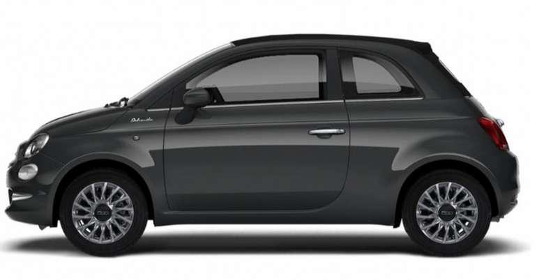 Privat- und Gewerbeleasing: Fiat 500C mit 69 PS für 77€ mtl. (LF: 0.39, Überführung: 777€)