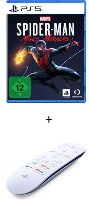 Marvel's Spider-Man: Miles Morales (PS5) + Medienfernbedienung für 40€ inkl. Versand (statt 61€)