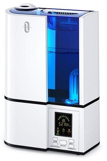 TaoTronics Ultraschall Luftbefeuchter mit LED-Anzeige (bis 35㎡) für 33,99€ (statt 49€)