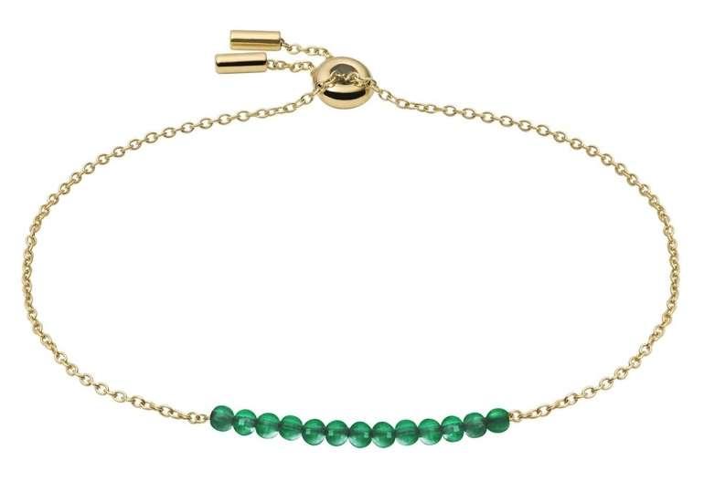 Fossil Damen Edelstahl Armband Beads in 5 Farben für je 24,50€ (statt 31€)