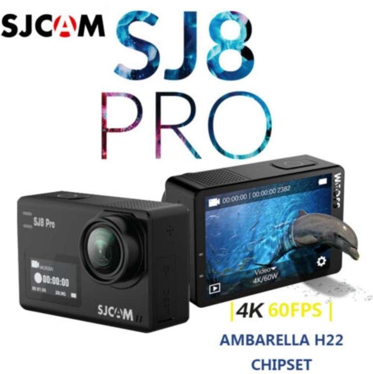 SJCAM SJ8 Pro Action Kamera (4K 60fps, 12MP) für 159,99€ inkl. Versand (statt 176€)
