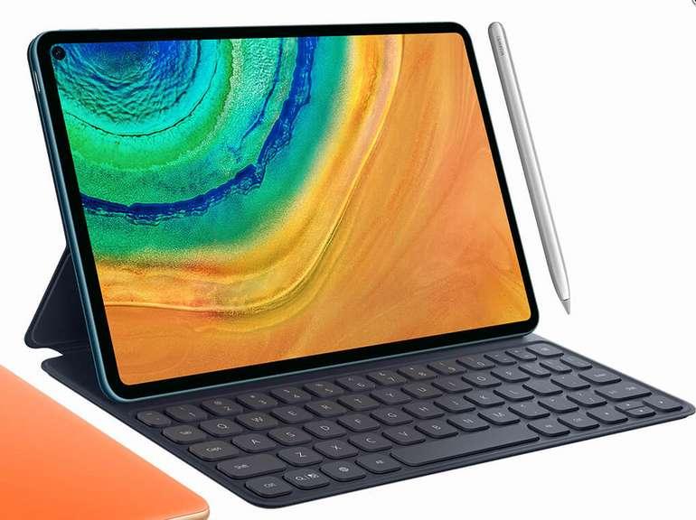 Huawei MatePad Pro 128GB WiFi + Tastatur für 499€ (statt 613€)