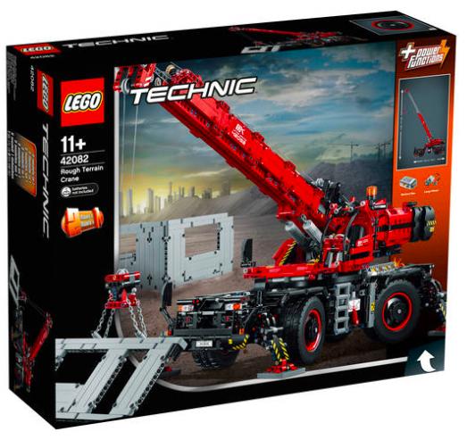 Lego Technic Geländegängiger Kranwagen (42082) für 149,99€ inkl. Versand