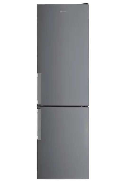 Bauknecht KGSF 202G IN 2 Kühlgefrierkombination (E, 2013 mm hoch, Edelstahloptik) für 414,40€ inkl. Versand
