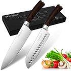 2 Homgeek Santoku Messer für 28,19€ + 15 Homgeek Bento Lunch Boxen für 13,76€
