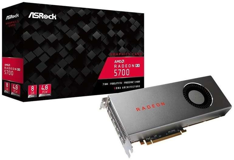 ASRock Radeon RX 5700 8GB GDDR6 Grafikkarte für 243,08€ (statt 331€)