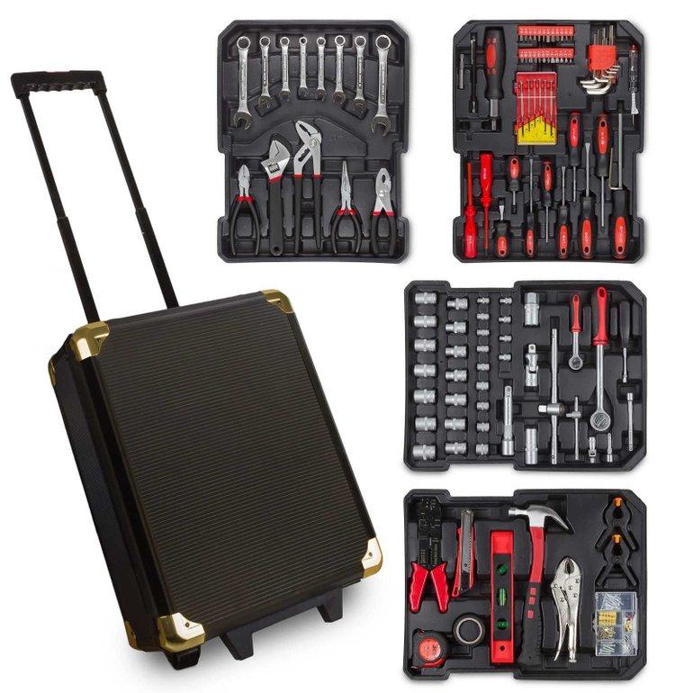 Julido Werkzeugkoffer mit Ratschenfunktion (187 Teile) für 49,95€ inkl. Versand