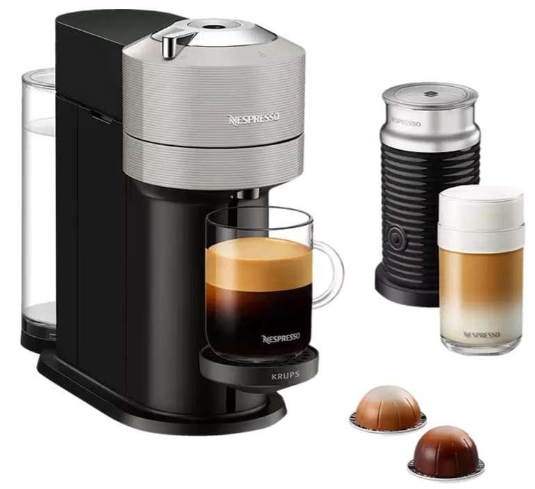 Krups XN911B Nespresso Vertuo Next Kapselmaschine + Nespresso Aeroccino 3 Milchaufschäumer für 69,90€