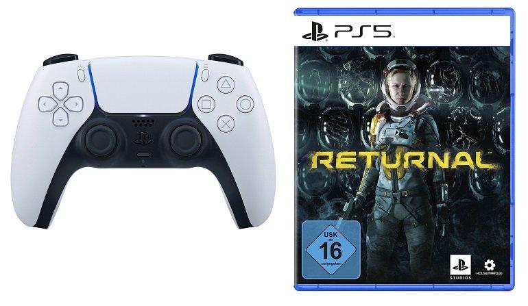 Sony DualSense Wireless-Controller + Spiel Returnal PS5