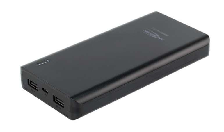 Ansmann PB20.8 Powerbank mit 20.000 mAh für 11€ inkl. Versand (statt 26€)