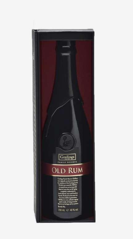 Goslings Family Reserve Old Rum (40%, 0.7L) für 54,90€inkl. Versand (statt 67€)