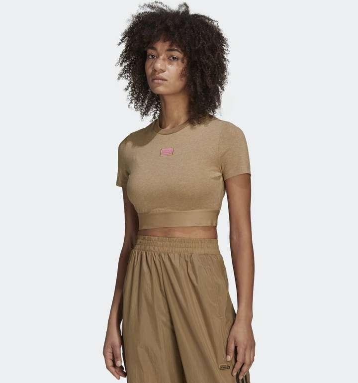 Adidas R.Y.V. Cropped Damen T-Shirt in 3 Farben für je 12,75€ (statt 18€) - Creators Club