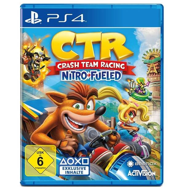 CTR: Crash Team Racing (PS4) für 27,36€ inkl. Versand (statt 34€)
