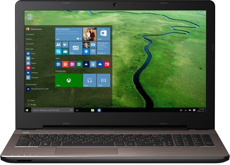 "Medion Akoya E6416 MD 99713 15,6"" Notebook (i3, 500GB, Win10) für 311,11€"