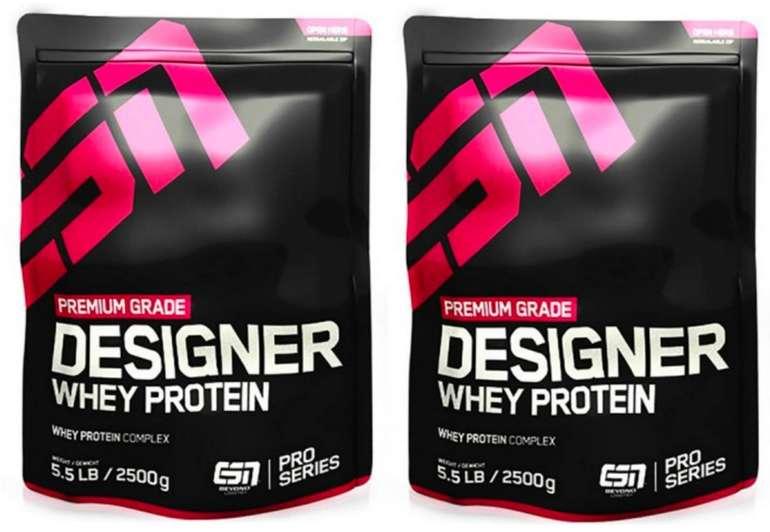 3,5kg ESN Designer Whey für 44,80€ inkl. Versand (statt 59€) - (12,80€/kg)