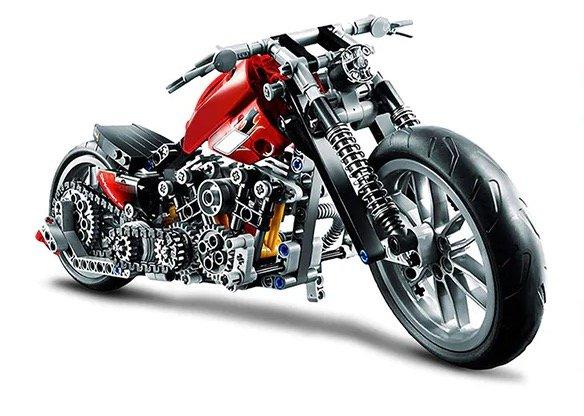 Beilexing Motorrad zum Selberbauen (378 Teile) für 18,87€ inkl. Versand