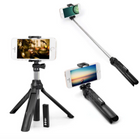 Portabler Bluetooth 4.0 Monopod & Selfie Stick für Smartphones für 5,14€