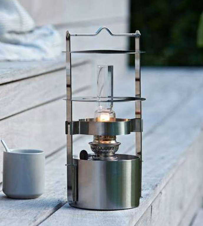 Stelton EM 1004 Small Schiffslampe (Edelstahl / Glas) für 165,90€ inkl. Versand (statt 245€)