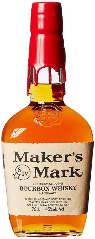 Maker's Mark Kentucky Straight Bourbon Whisky (1 x 0.7 l) für 17,99€ inkl. VSK (statt 22€) - Prime!
