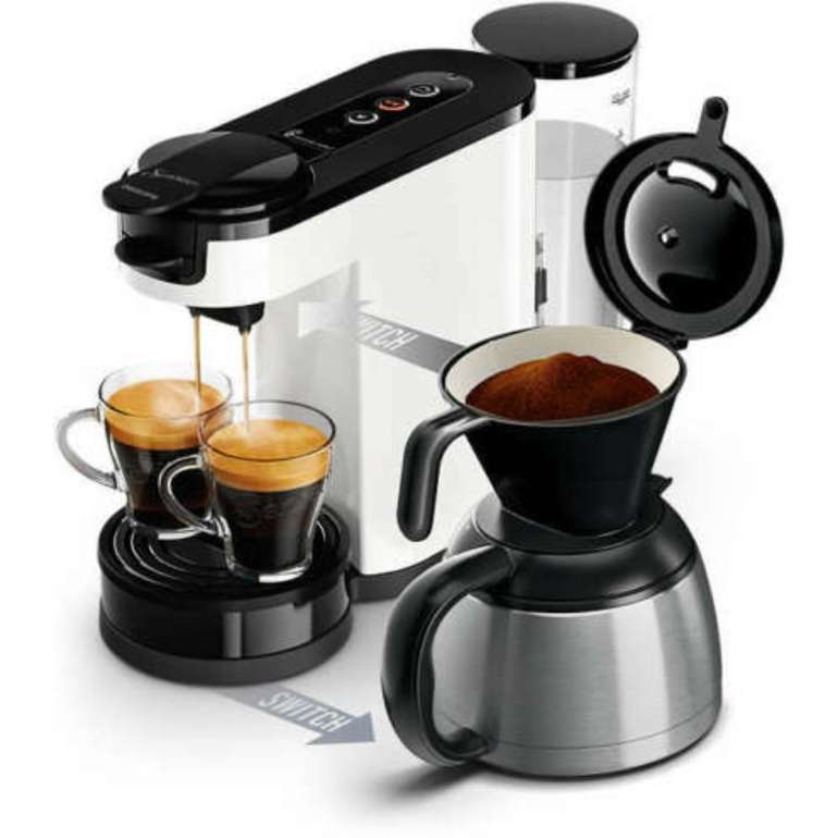 Philips Kaffeemaschine HD6592/00 Senseo Switch für 62,99€ inkl. Versand (statt 95€) - B-Ware!