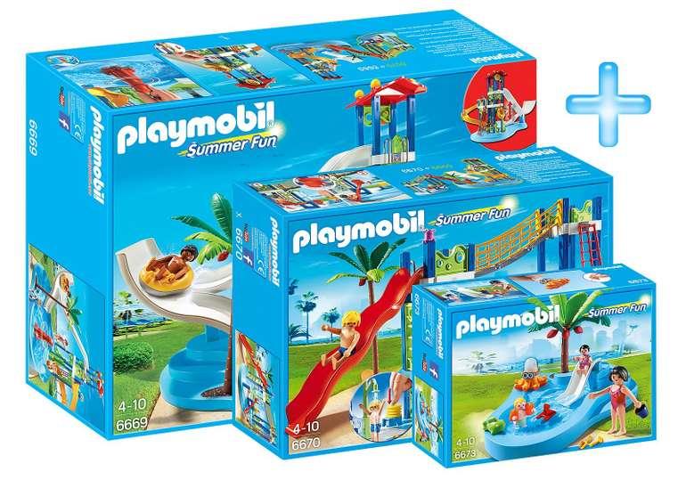 Playmobil Bundle Aquapark für 44,99€ inkl. Versand (statt 96€)