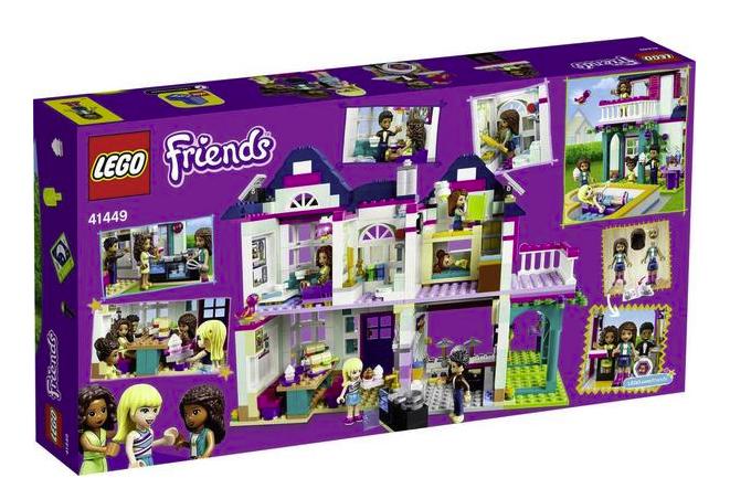Lego Friends Andreas Haus (41449) für 47,51€ inkl. Versand (statt 54€) - Thalia Club!