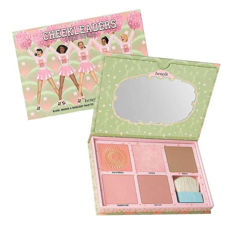 Bis zu 50% Rabatt im Benefit Cosmetics Sale + 30% Extra auf Alles!, z.B. Cheekleaders Pink Squad Pallette für 34,72€