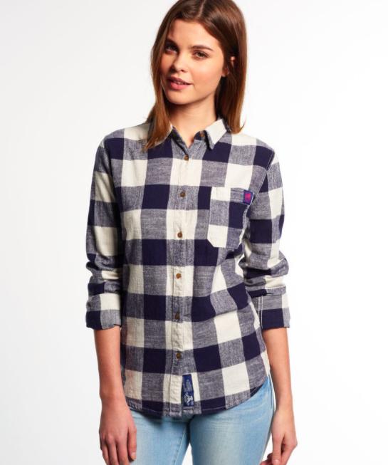 Superdry Herren und Damen Hemden – neue Modelle für 27,95€ inkl. Versand